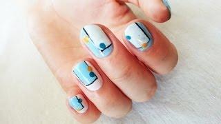 Смотреть онлайн Урок дизайна маникюра на короткие ногти