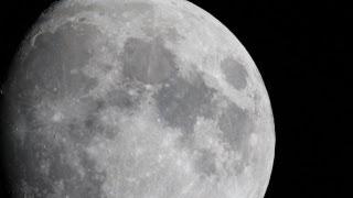 Waxing Gibbous Moon Phase HD