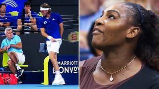deportes nervios en el tenis