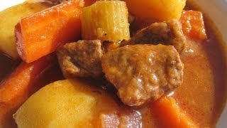 OLD FASHIONED BEEF STEW - How to make tender BEEF STEW Recipe