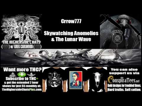 Crrow777 | Skywatching Anomalies & The Lunar Wave | Could the moon be a hologram?