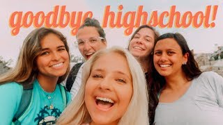 last day of high school EVER // vlog