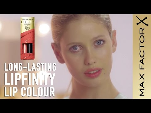 How to Apply Long-Lasting Lipstick | Max Factor Lipfinity Lip Colour