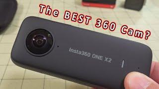 Insta360 ONE X2 360 Camera Review ????