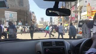 世界凶悪都市ナイロビのダウンタウン電気店街KENYANirobiDowntown