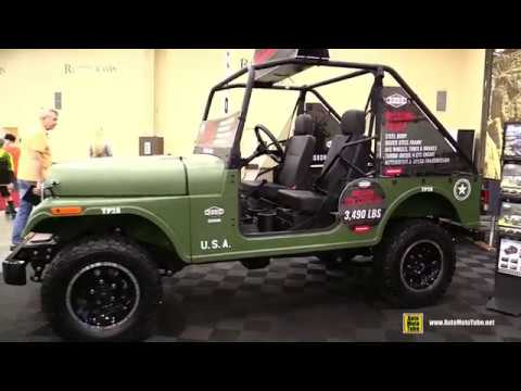 2019 Roxor Mahindra Military Style Off Road Vehicle - Walkaround - 2018 AIMExpo Las Vegas