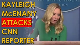 Kayleigh McEnany calls CNN's Kaitlan Collins an activist in AWFUL Press Conference