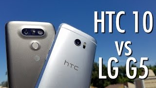 HTC 10 vs LG G5: Smartphone role reversal?