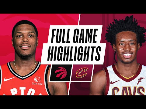 RAPTORS at CAVALIERS   FULL GAME HIGHLIGHTS   March 21, 2021