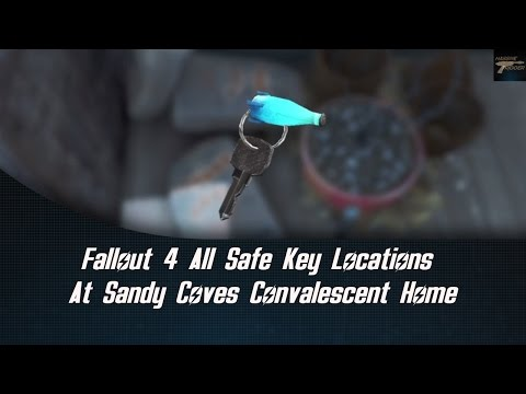 Fallout 4 All Safe Key Locations At Sandy Coves Convalescent Home