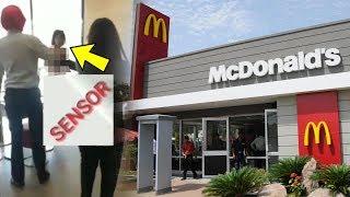 Geger Wanita Tanpa Busana Masuk McDonald's di Palembang, Ditarik Keluar Malah Memberontak