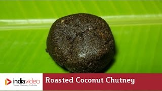 Make an old-fashioned roasted coconut chutney in the modern kitchen