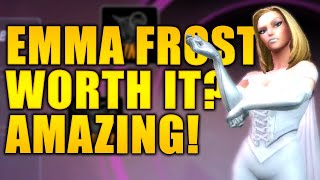 Emma Frost Worth It? - YES! WOW - MARVEL Strike Force - MSF