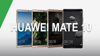 Huawei Mate 10 y 10 Pro: TODO sobre dos bestias alimentadas por inteligencia artificial
