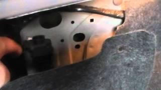 Ford Lincoln Mercury  Fuel Pump Inertia Cutoff Switch Location
