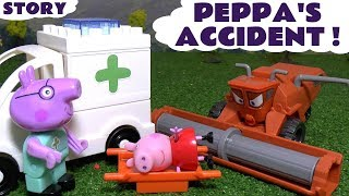 Peppa Pig full english episode Frank causes Accident - Fun story for kids
