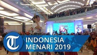 820 Peserta Ikut Meriahkan Indonesia Menari 2019 di TSM Makassar
