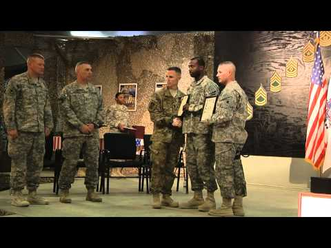 NCO Ceremony Video Screenshot