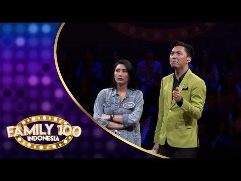 Tyas Mirasih merasa tegang saat di Bonus Round - PART 4 - Family 100 Indonesia 2019