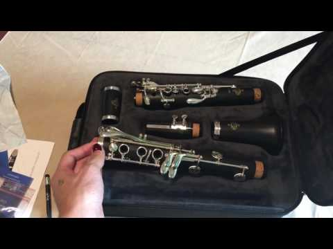 Unboxing my new Buffet E12f Clarinet