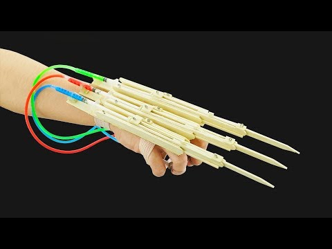 How to Make X-Men Wolverine Automatic Claws from Popsicle Sticks