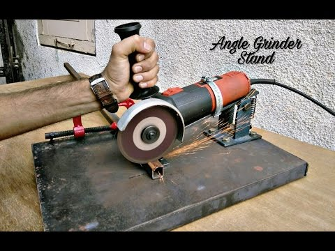 Homemade Angle Grinder Stand / Angle Grinder Support..