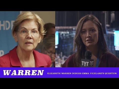 Elizabeth Warren Dodges Emma Vigeland's Military Budget Question (TMBS 105)