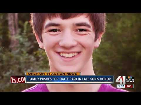 Family wants to build skate park in honor of son who died at 17