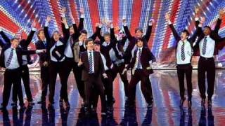 Out Of The Blue - Britain's Got Talent 2011 Audition - itv.com/talent - UK Version