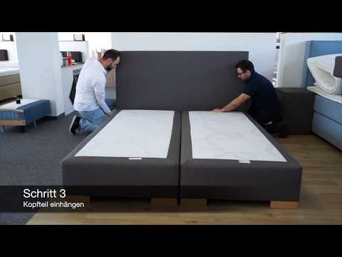 Boxspringbett Aufbau: Montageanleitung für Boxspring Welt Betten