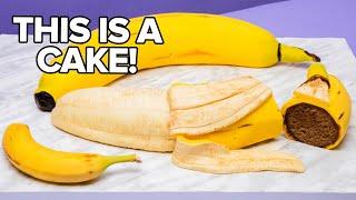 GIANT Banana... Made Of CAKE! | How To Cake It with Yolanda Gampp
