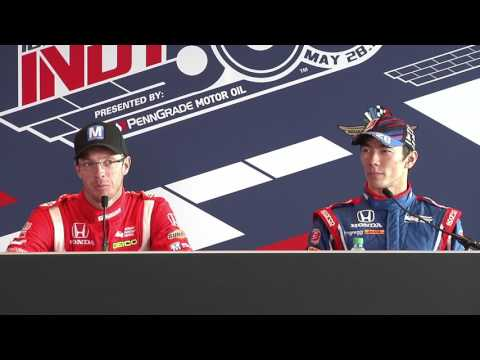 Indy 500 Fast Friday News Conference: Bourdais and Sato