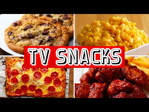 6 Snacks For Binge-Watching TV