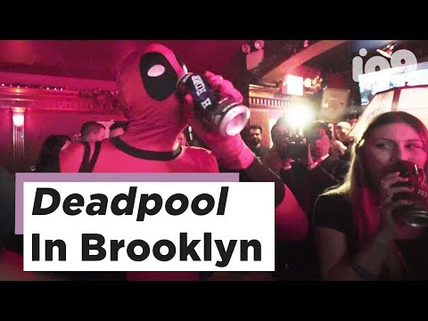 Deadpool 2 Pop-Up Bar Comes Complete With Heart Tattoos And For-Hire Biker Dudes