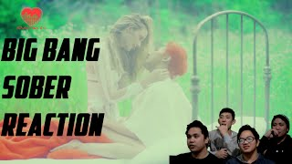 [4LadsReact] BIGBANG - Sober (맨정신) MV Reaction
