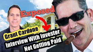 Cardone Capital Exposed Investor MattMoney No Longer Getting Distributions - Is Grant Cardone A Scam