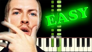 COLDPLAY - YELLOW - Easy Piano Tutorial