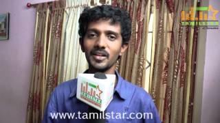 Surya Narayanan at Elamari Movie Shooting Spot