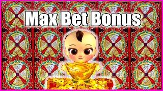 MAX BET BONUS STACK WILD LUXURY FUCAITONG SLOT MACHINE