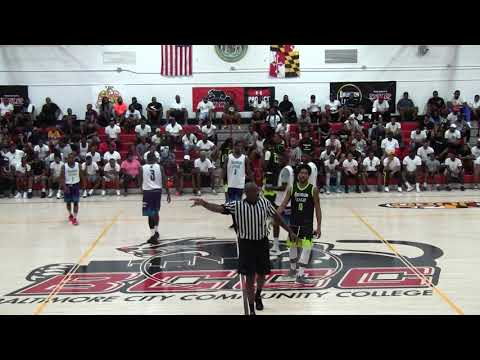 Team Dream vs Sams Ballers 1st Qtr- 2018 Brunson League Playoffs Quarterfinals @BCCC