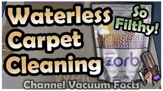 Cleaning Dirtiest Carpet Mat Without Water