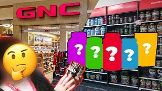 Asking A GNC Employee What Supplements I Should Buy To Get Huge