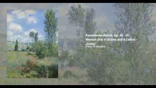 Kanonische Rätsel, Op. 42