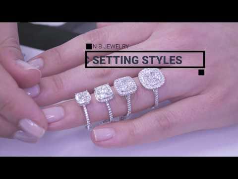 Cushion Cut Engagement Ring Style Basics: Education Shorts Episode 3: