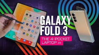 Samsung Galaxy Z Fold3 5G Review: The Four-Pocket Laptop