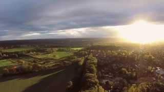Dji Phantom Quadcopter Fpv Flight - A beautiful sunset