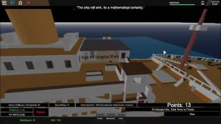 (Roblox) The Roblox Titanic 2011