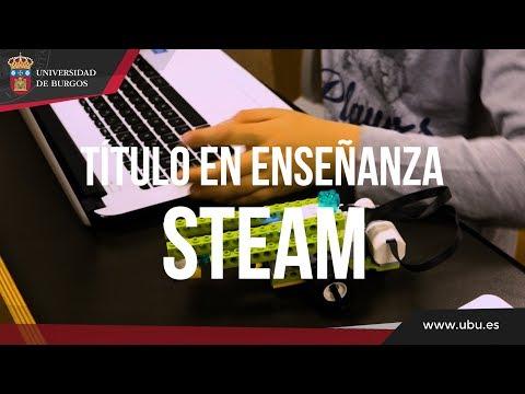 Título Online de Enseñanza STEAM. Versión corta. Universidad de Burgos