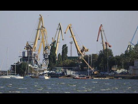 Как захватывали Таганрогский морской Порт?