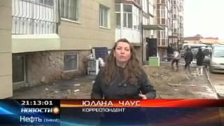 КТК: В Караганде рушится пятиэтажный дом